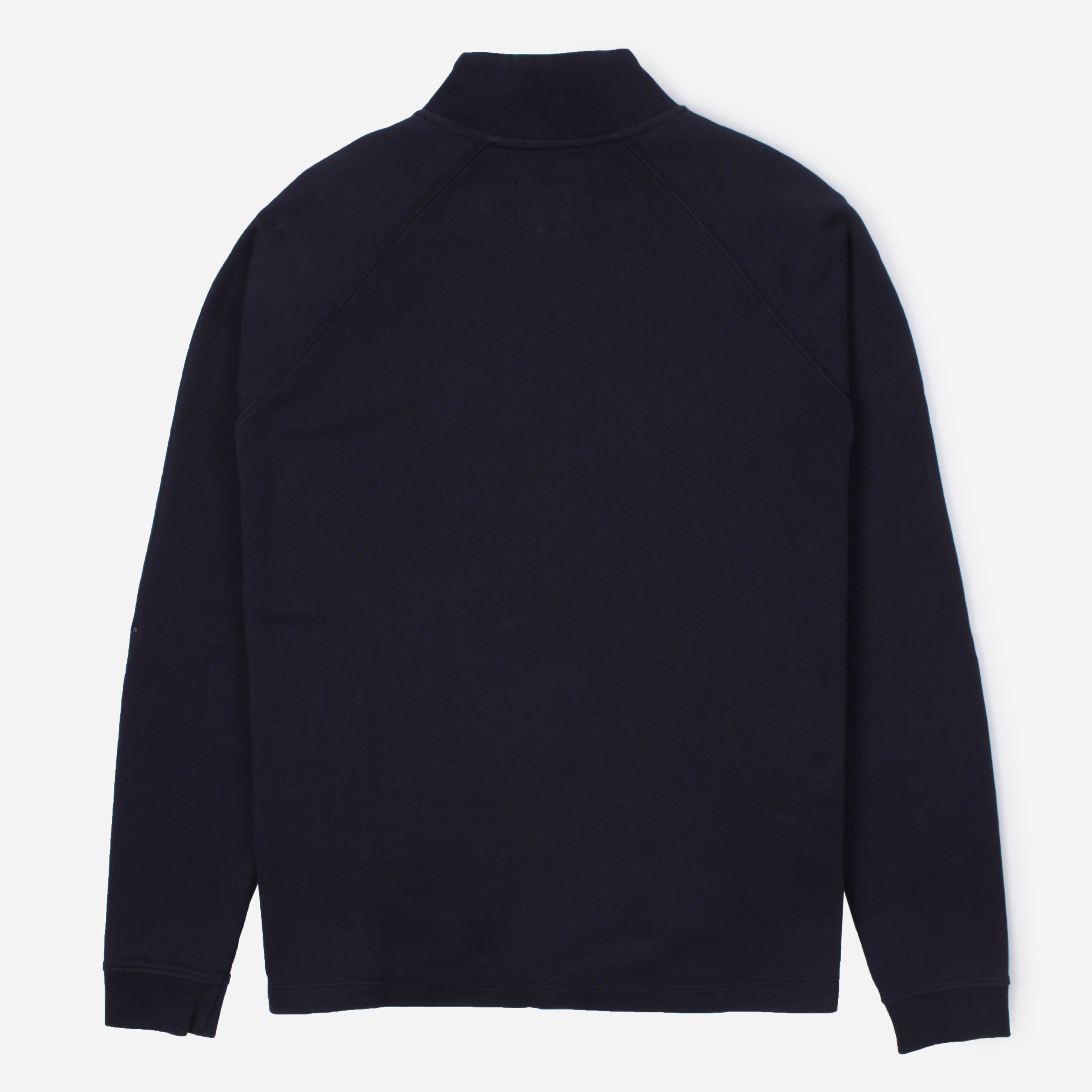 Folk Rivet Funnel Half Zip Sweat