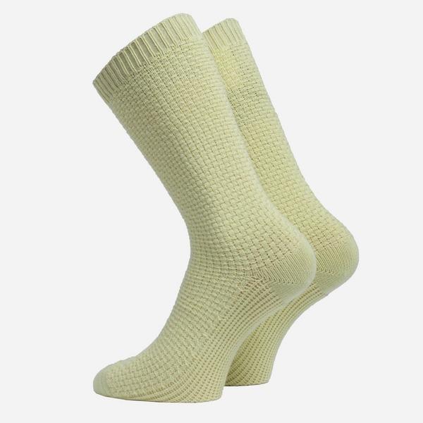 Folk Waffle Socks