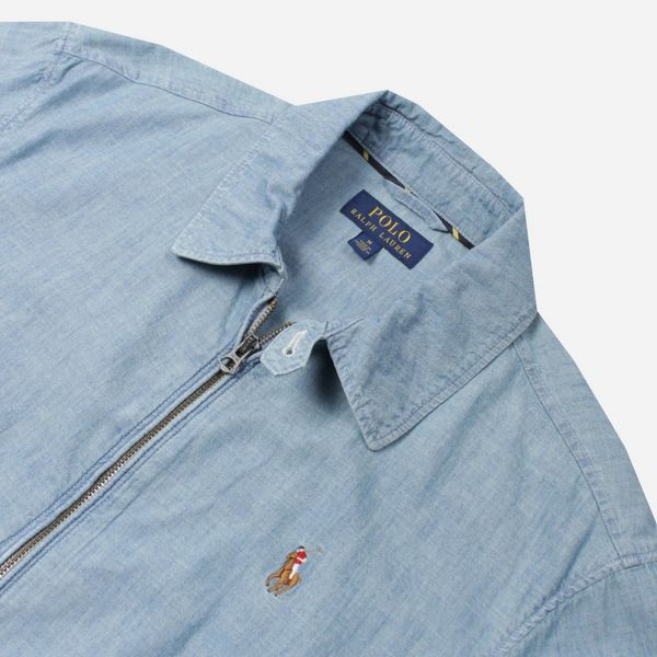 de480f91 Polo Ralph Lauren Chambray Bayport Jacket | The Hip Store