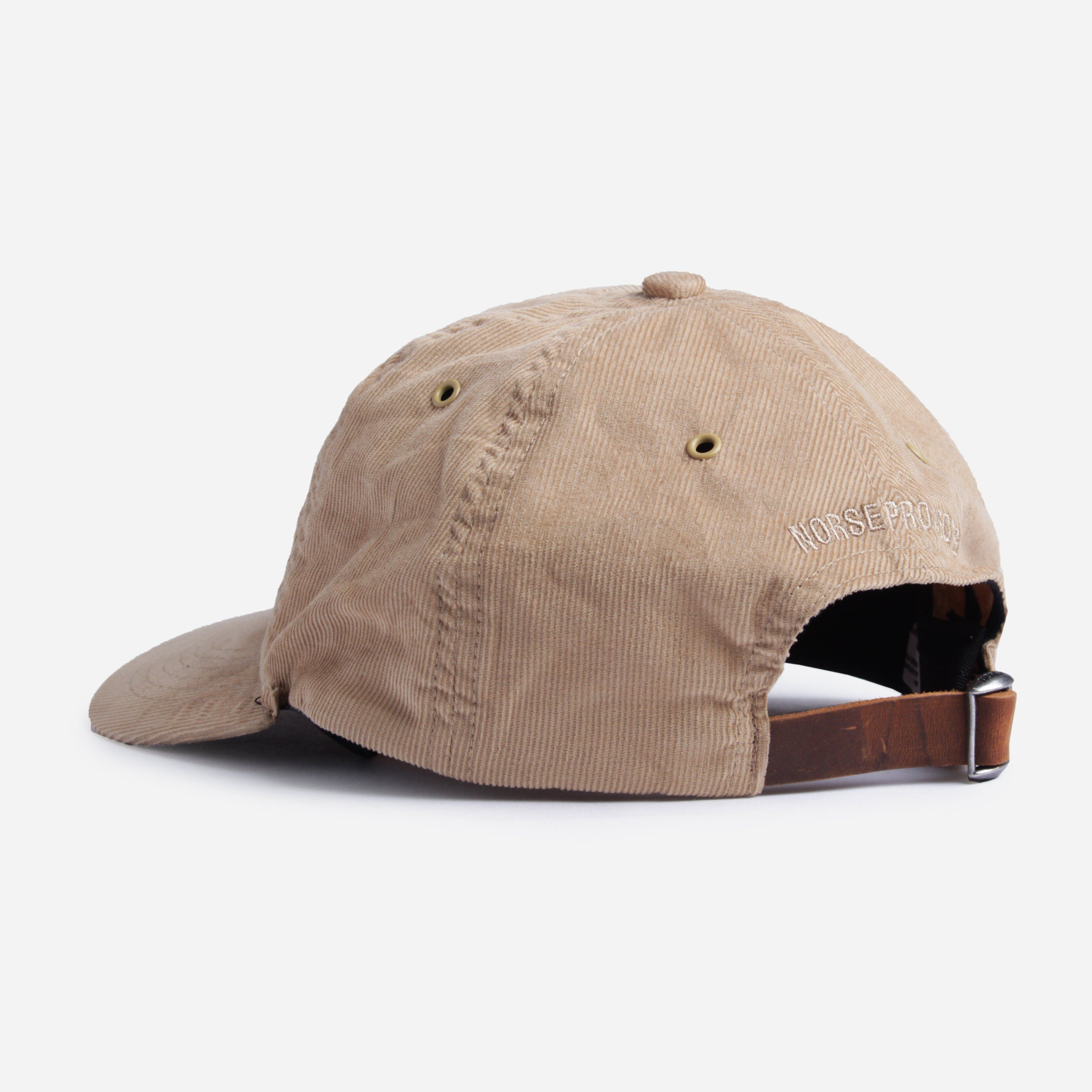 Norse Projects N80-0020 BABY CORDUROY SPORTS CAP