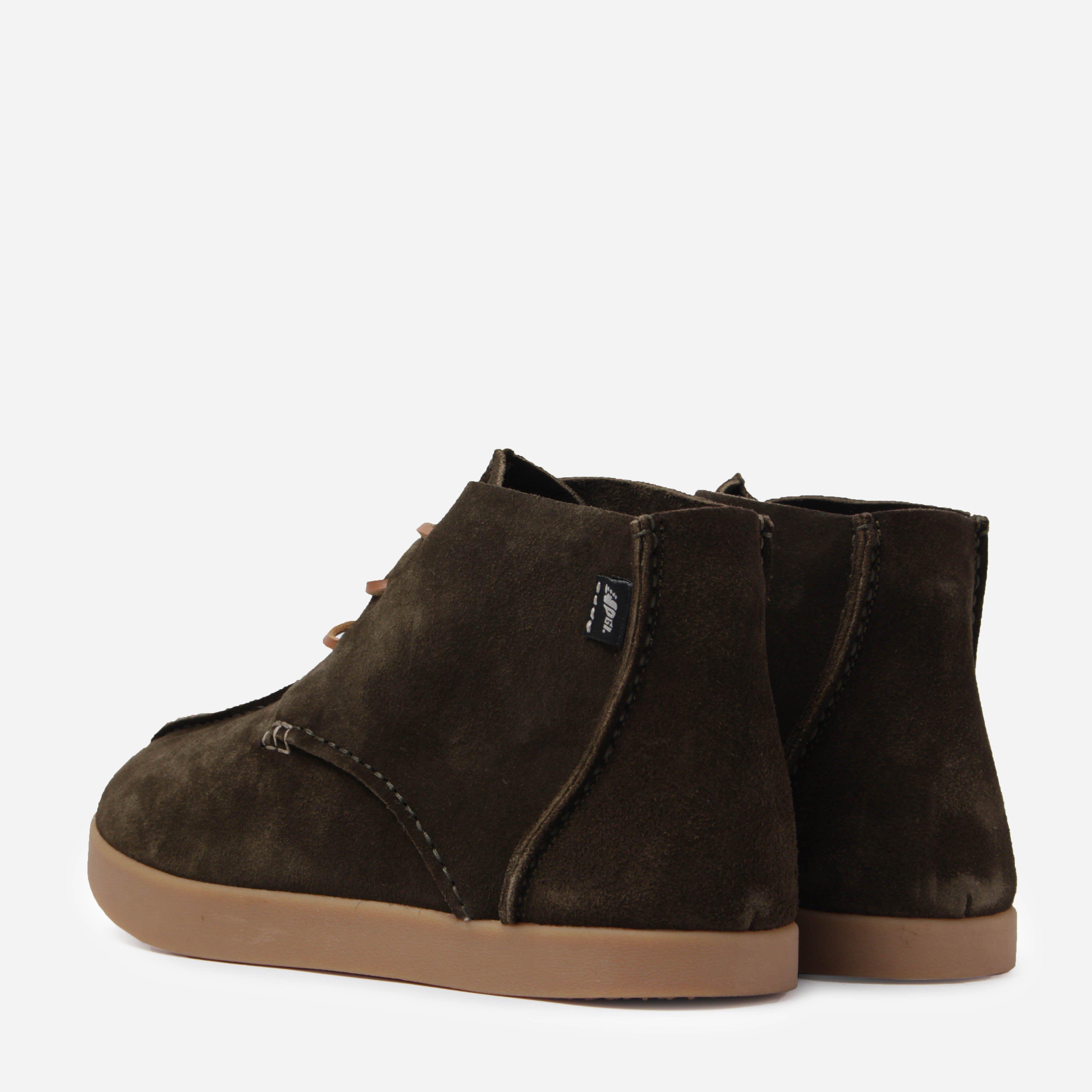 Yogi Footwear DYU14021 ELIJAH NEGATIVE HEEL LACE UP BOOT