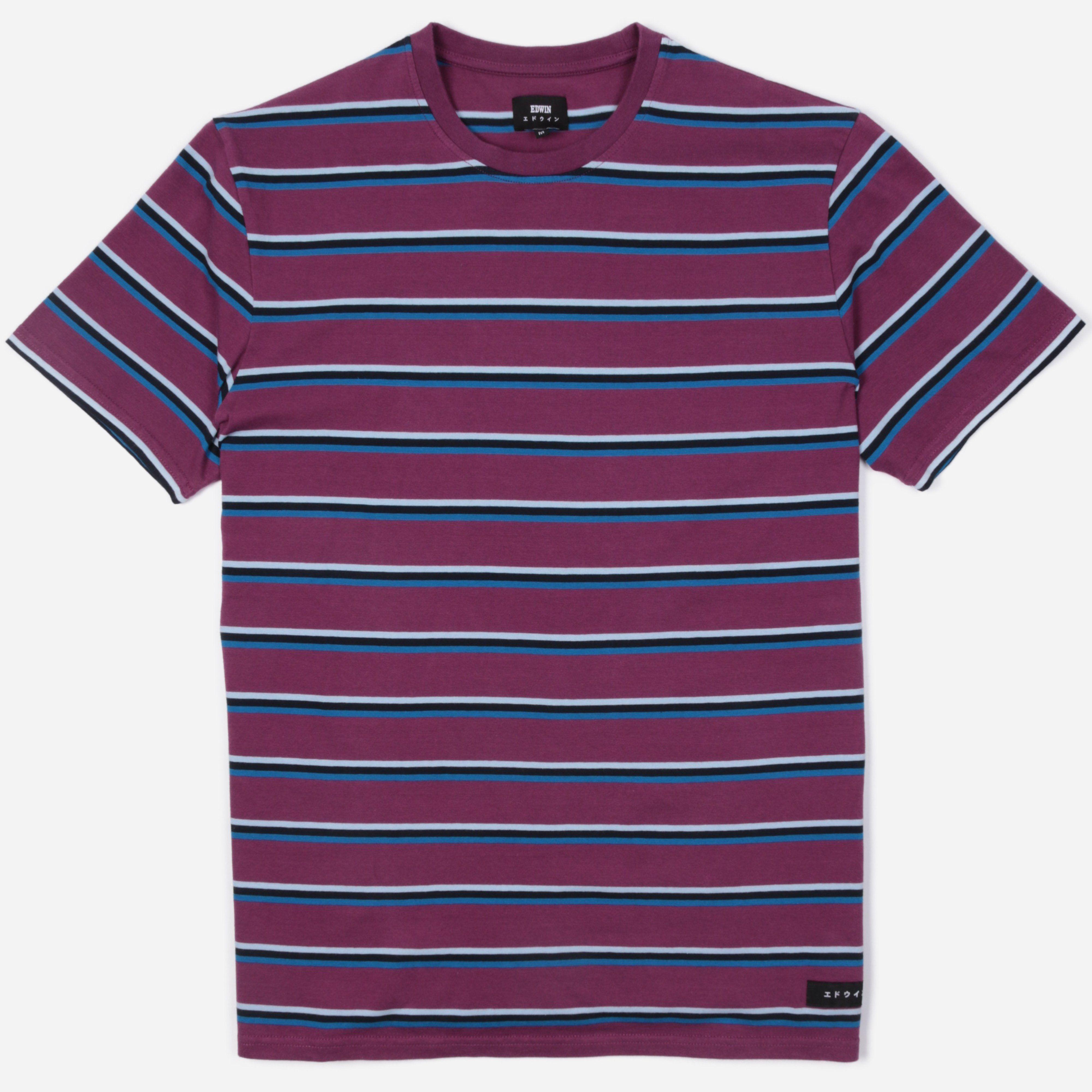 Edwin West Stripe T-Shirt