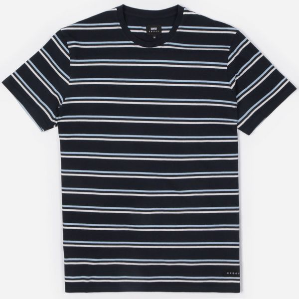 Edwin West Stripe Short Sleeve T-Shirt