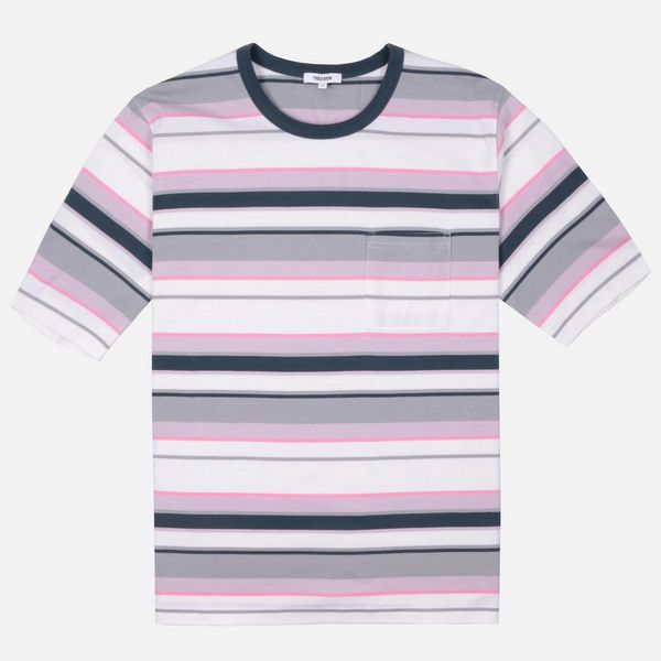 Tres Bien Volume Stripe Short Sleeve T-Shirt