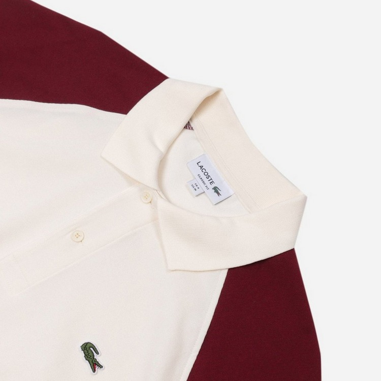Lacoste Ribbed Collar Polo Shirt