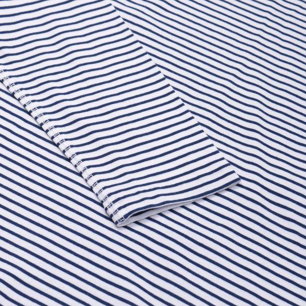 Saturdays NYC Alek Fadeer Long Sleeve Stripe T-Shirt