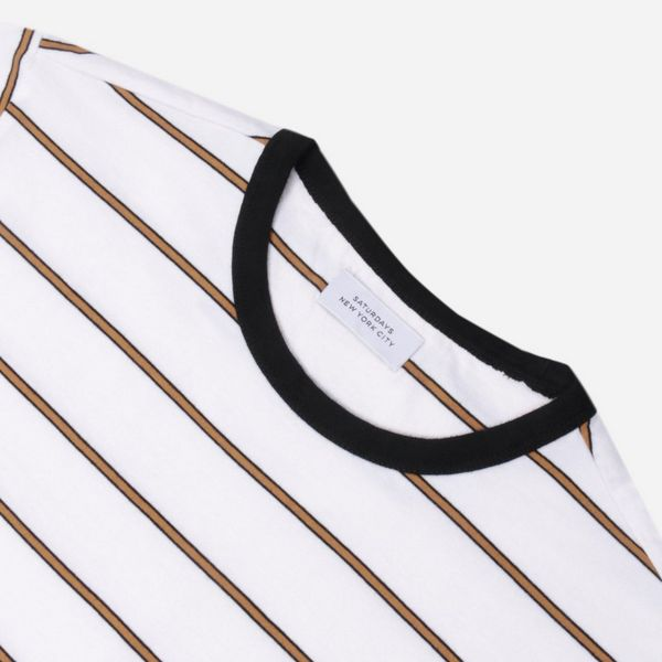 Saturdays NYC Randall Stripe T-Shirt