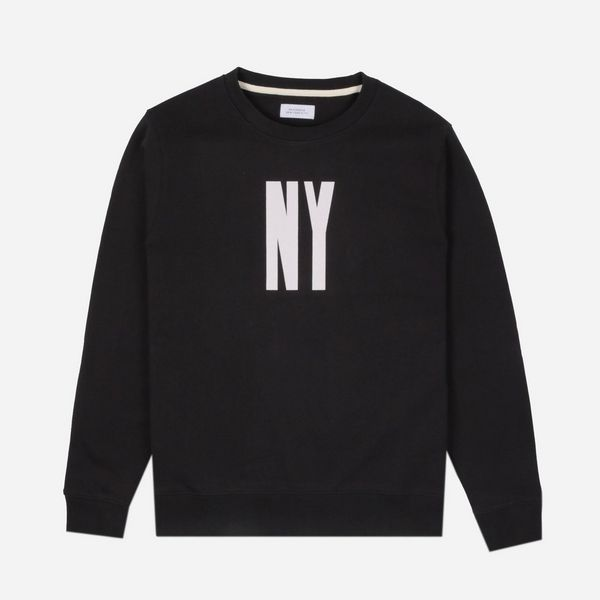 Saturdays NYC Bowery NY Letterpress Sweatshirt