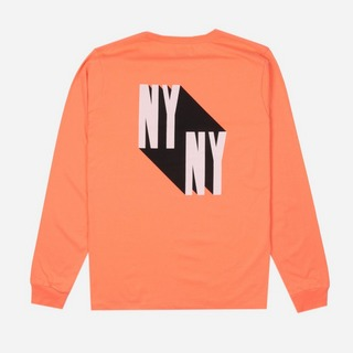 Saturdays NYC NY Shadow Long Sleeve T-Shirt