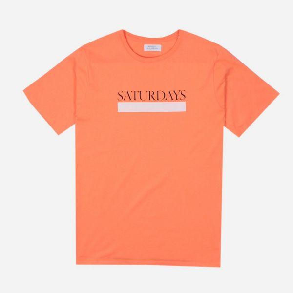 Saturdays NYC Bar Underline T-Shirt