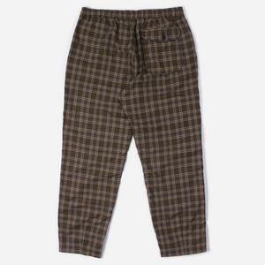 9433543904019a Universal Works Tartan Check Track Trousers Universal Works Tartan Check  Track Trousers
