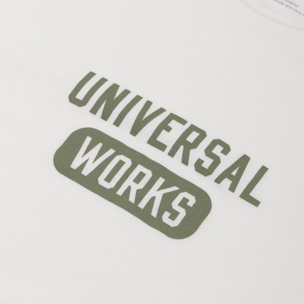 Universal Works Wordmark T-Shirt