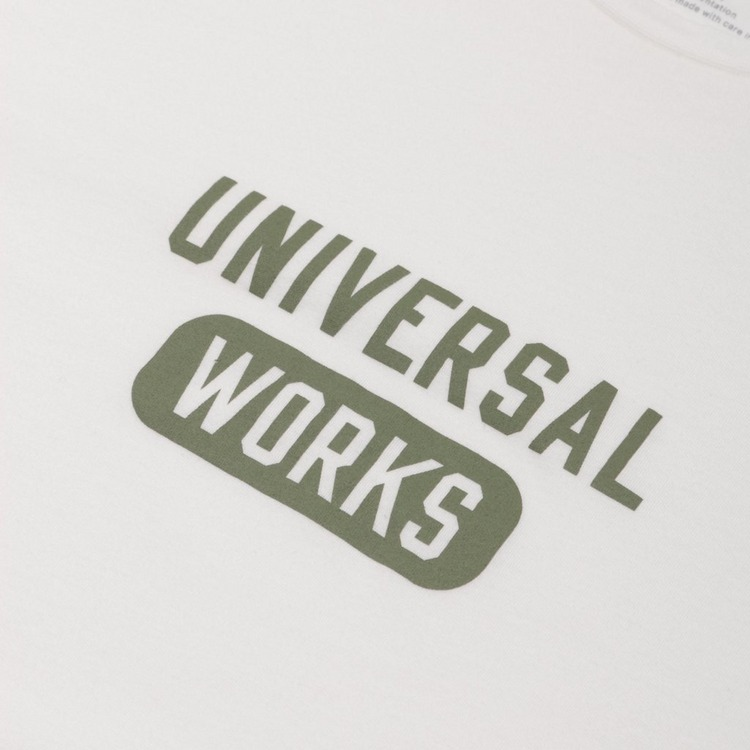 Universal Works Wordmark T-Shirt