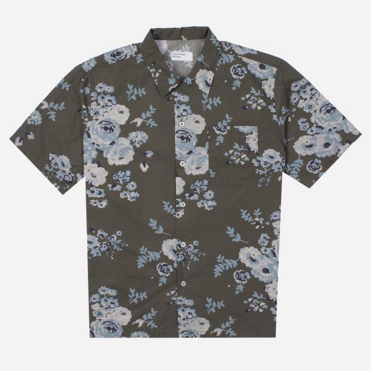 Universal Works Road Short Sleeve Shirt