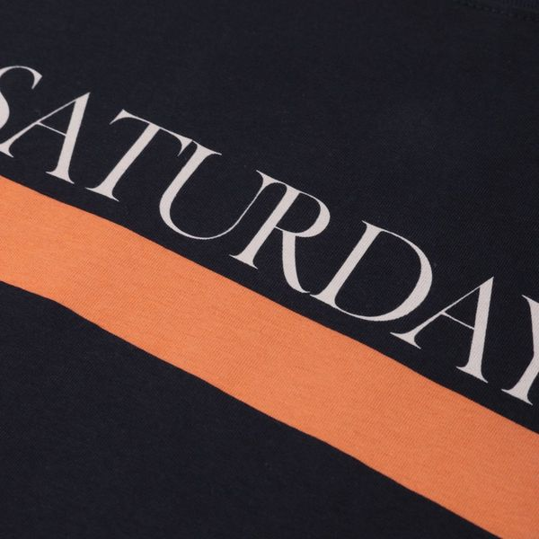 Saturdays NYC Bar Underline T-Shirt
