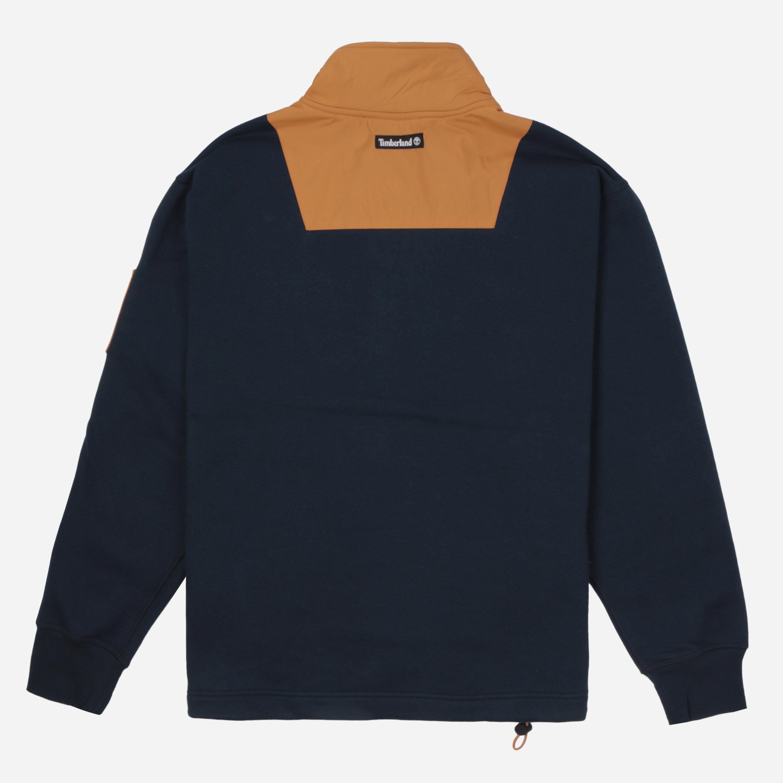 Timberland Half Zip Mix Sweatshirt