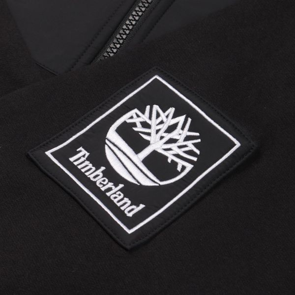 Timberland Funnel Neck Mix Hoodie