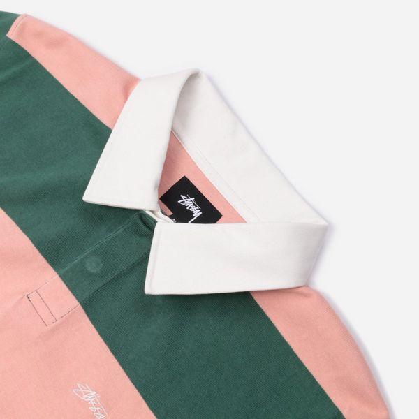 Stussy Ralphie Stripe Rugby Polo Shirt