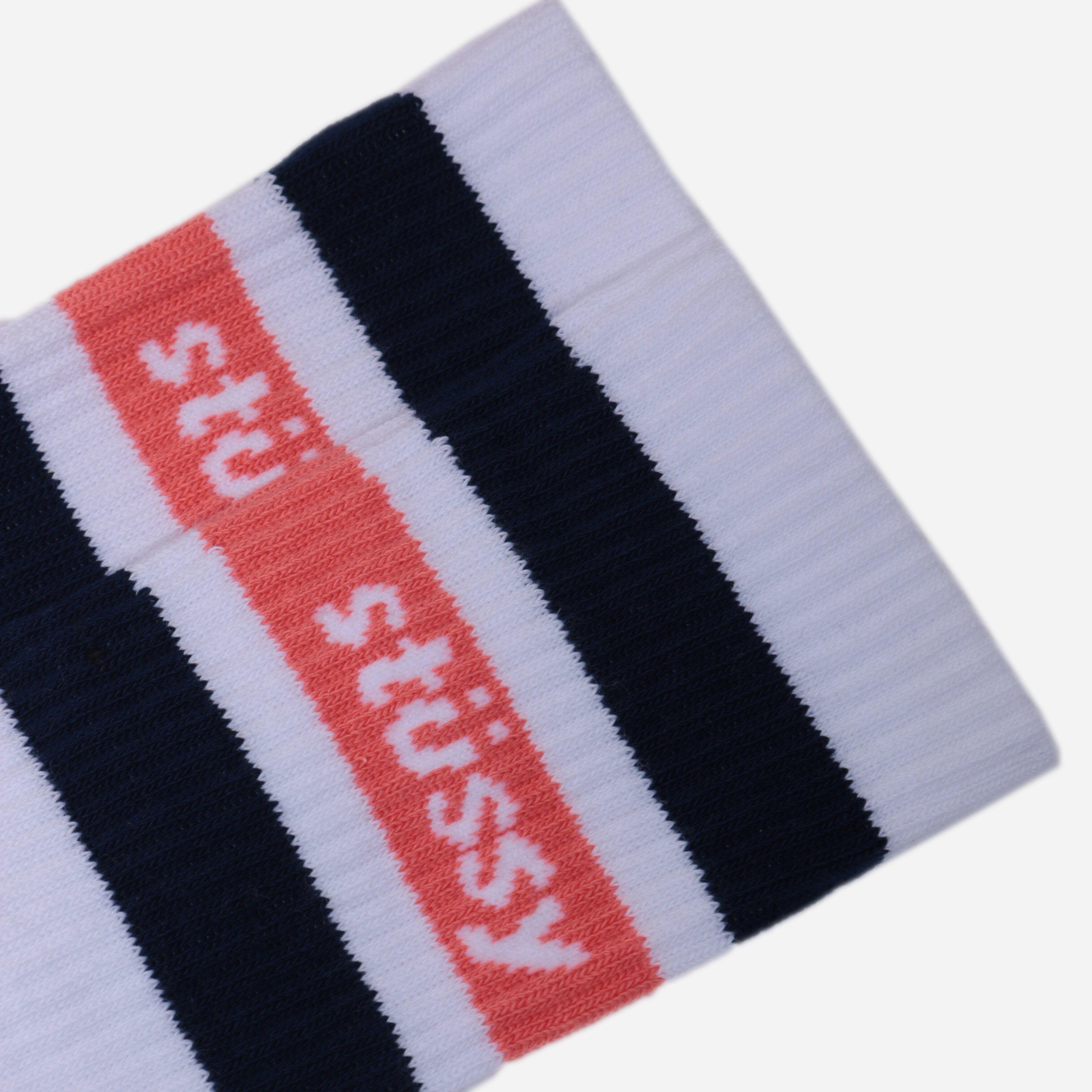 Stussy Stripe Crew Socks