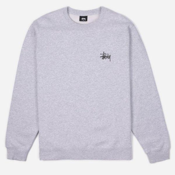 Stussy Basic Stussy Crew Sweatshirt