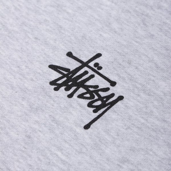 Stussy Basic Logo Zip Up Hoodie