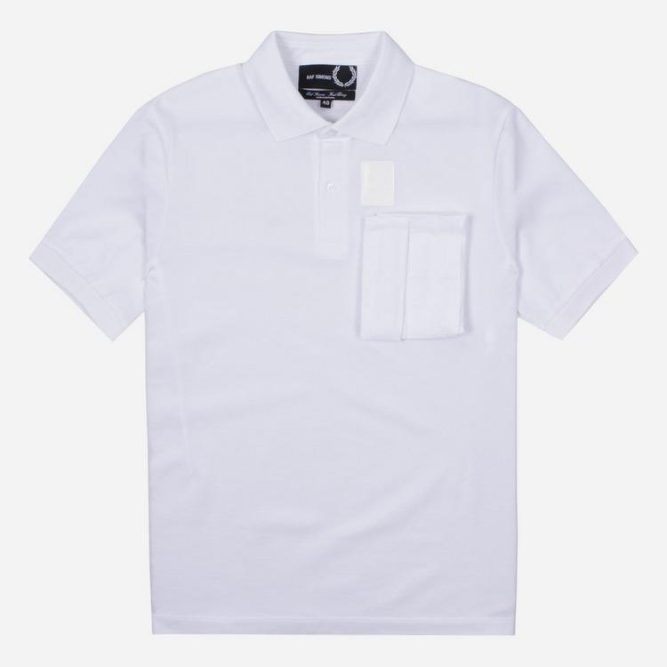 Fred Perry X Raf Simons Space Pocket Polo Shirt