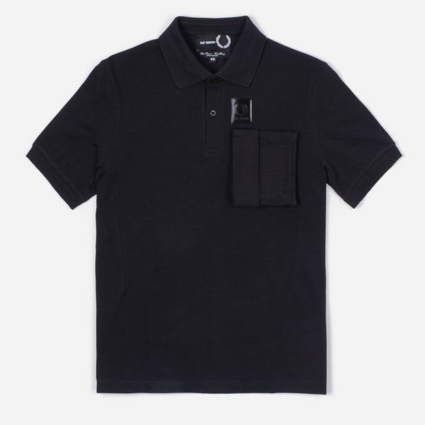 Fred Perry X Raf Simons Space Pocket Polo Shirt