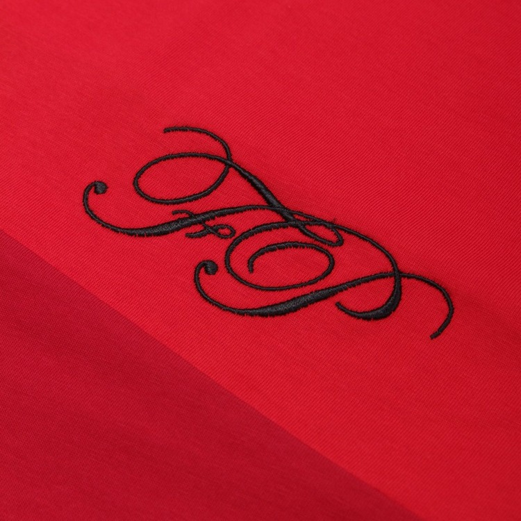 Fred Perry X Raf Simons Embroidered Initial T-Shirt