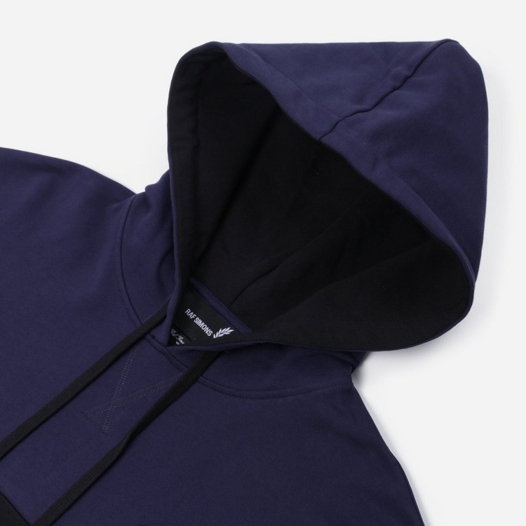 Fred Perry X Raf Simons Embroidered Initial Hoodie