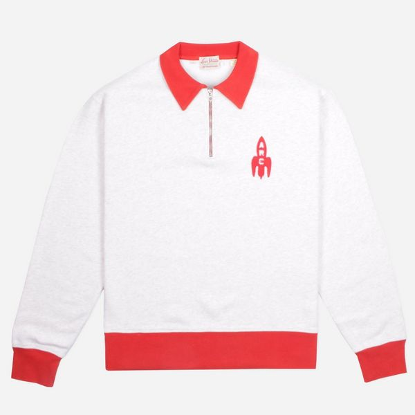 Levi's Vintage Clothing 50s Half Zip Polo Sweat
