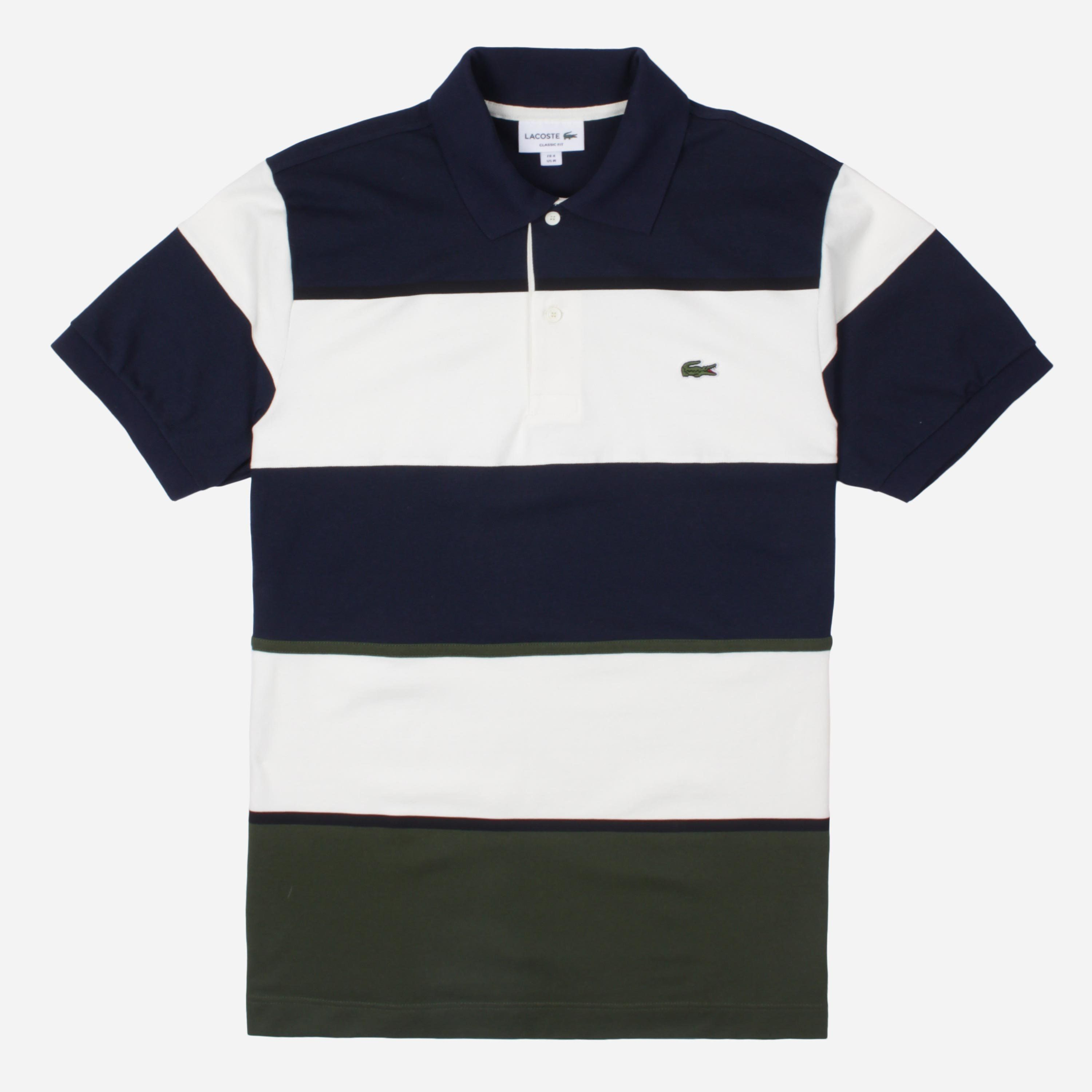 Lacoste PH4391-CW S/S RIBBED COLLAR SHIRT