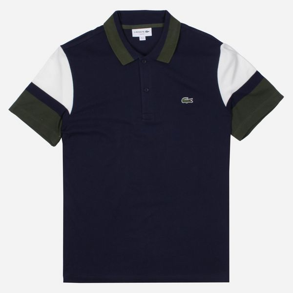 Lacoste Panelled Polo Shirt