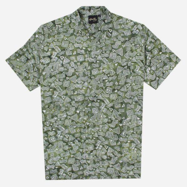 Stan Ray Tomtom Batik Short Sleeve Shirt