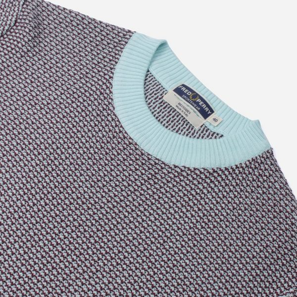 Fred Perry Reissues Two Colour Knit T-Shirt