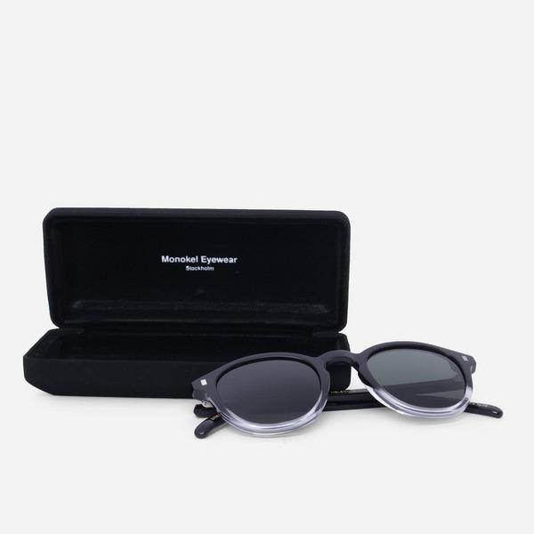 Monokel Eyewear MN-A6-BLC NELSON BLACK/CRYSTAL ECO