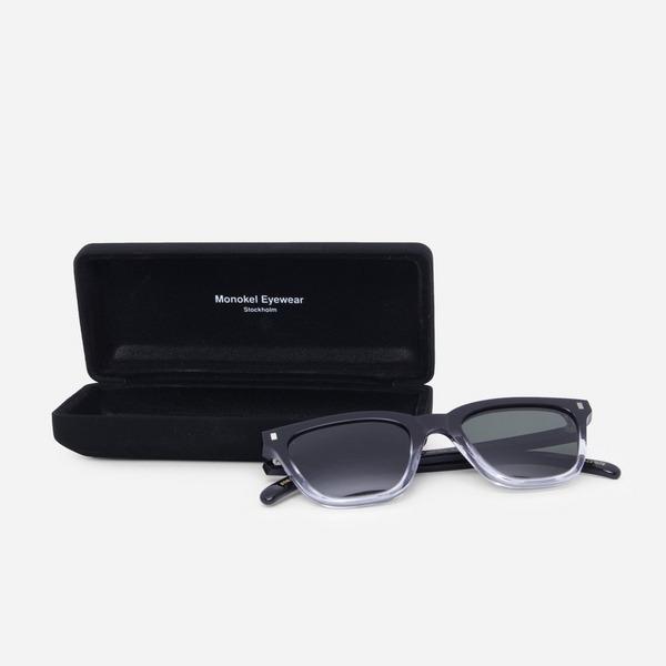 Monokel Eyewear MN-A2-BLC ROBOTNIK BLACK/CRYSTAL ECO
