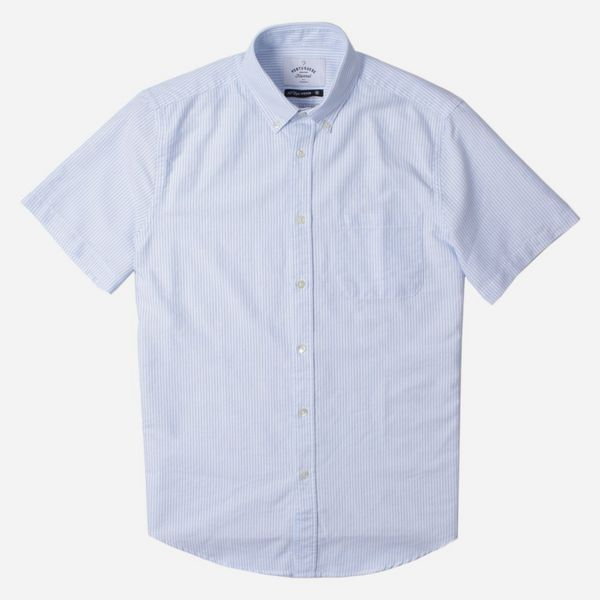 Portuguese Flannel Belavista Stripe Short Sleeve Shirt