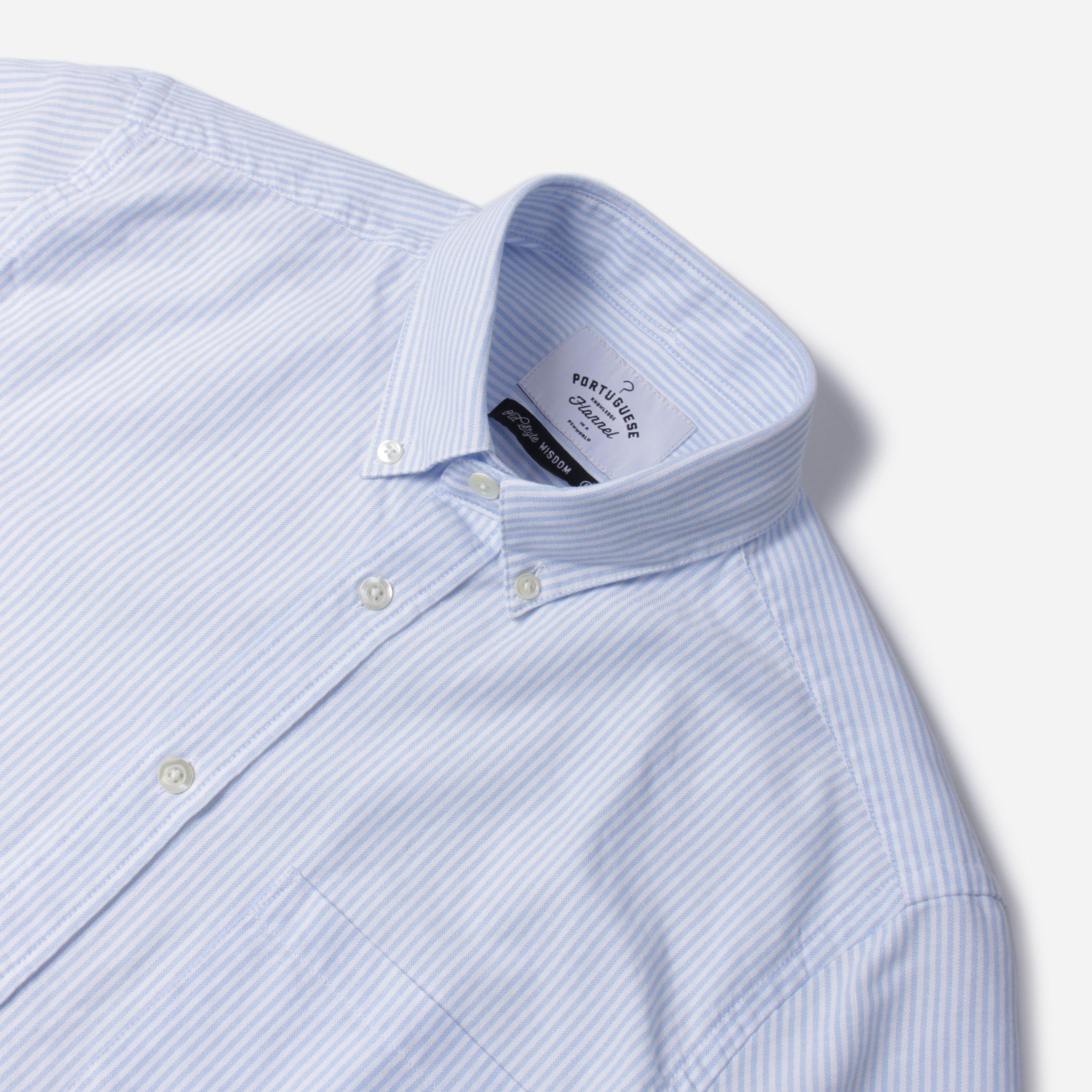 Portuguese Flannel Belavista Stripe SS Shirt