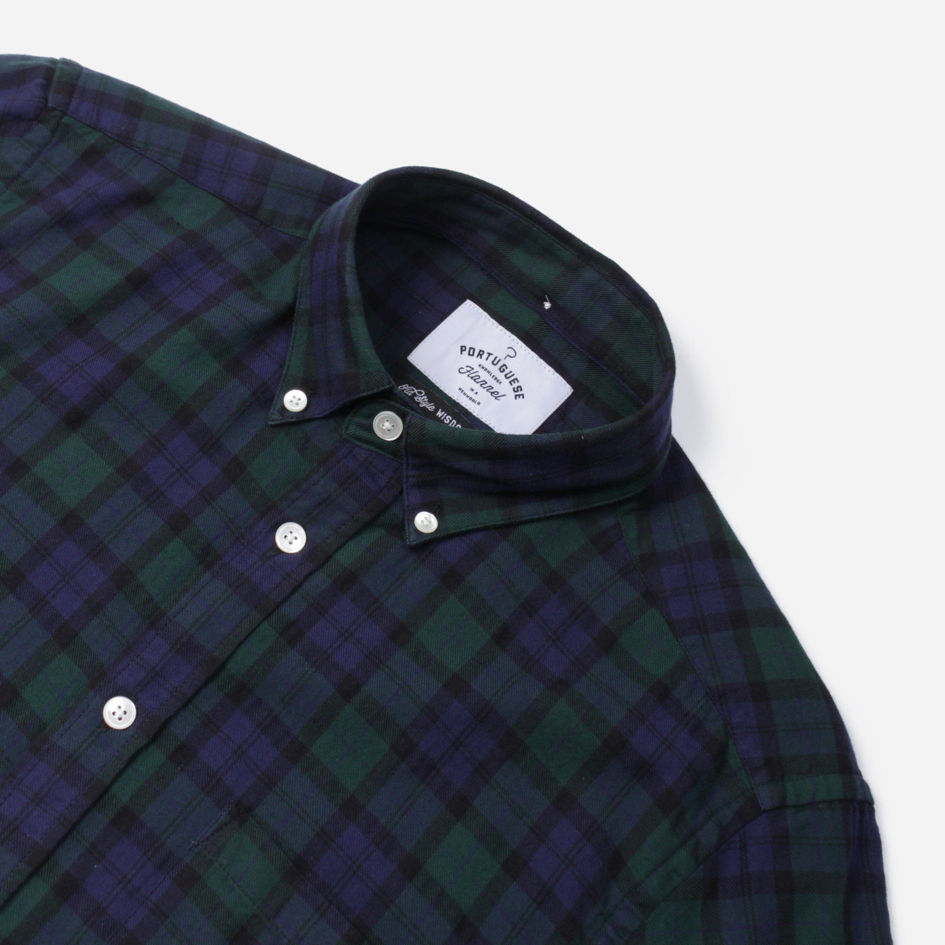 Portuguese Flannel BONFIM S/S BD SHIRT