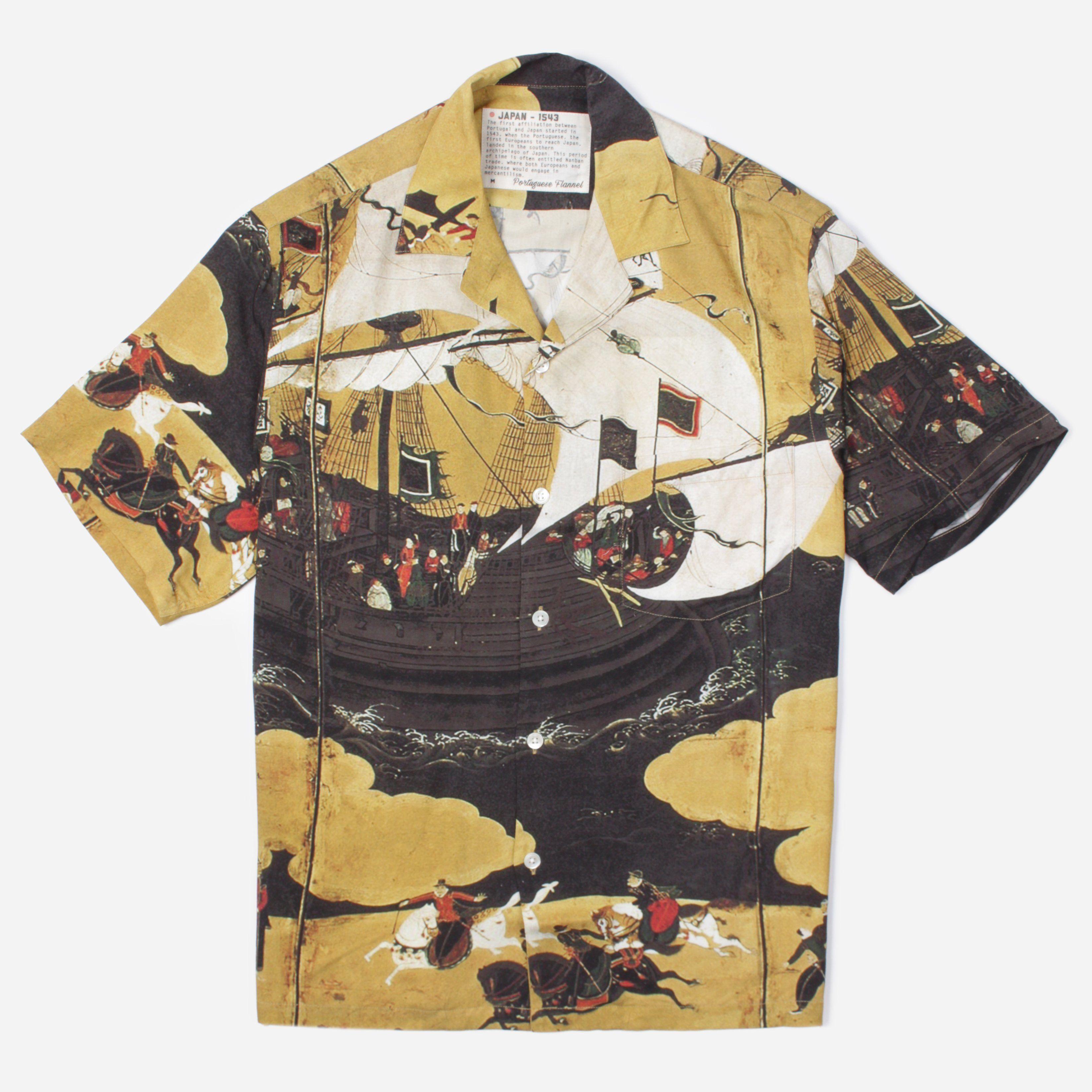 Portuguese Flannel JAPAN 1543 S/S SHIRT