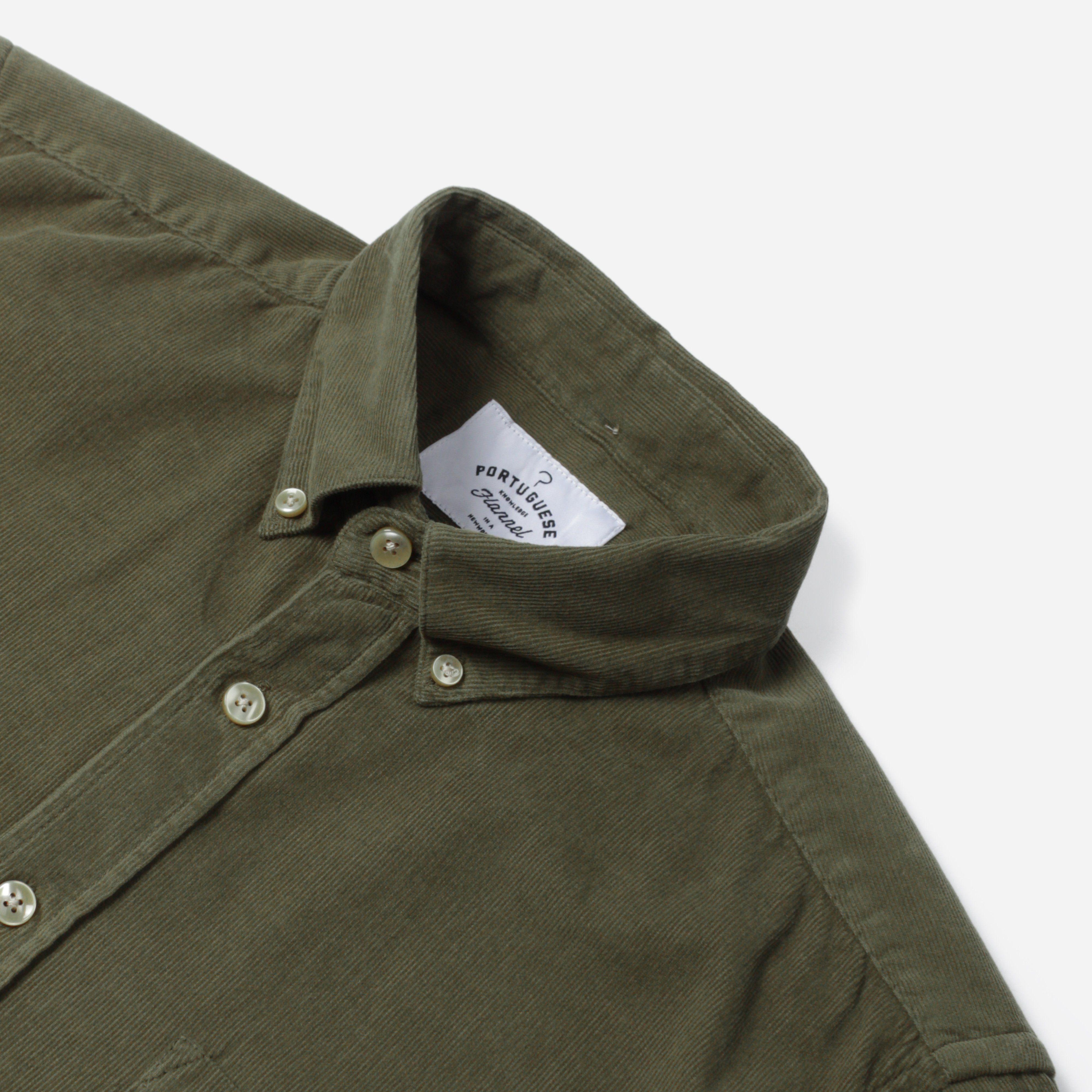 Portuguese Flannel LOBO S/S BD SHIRT