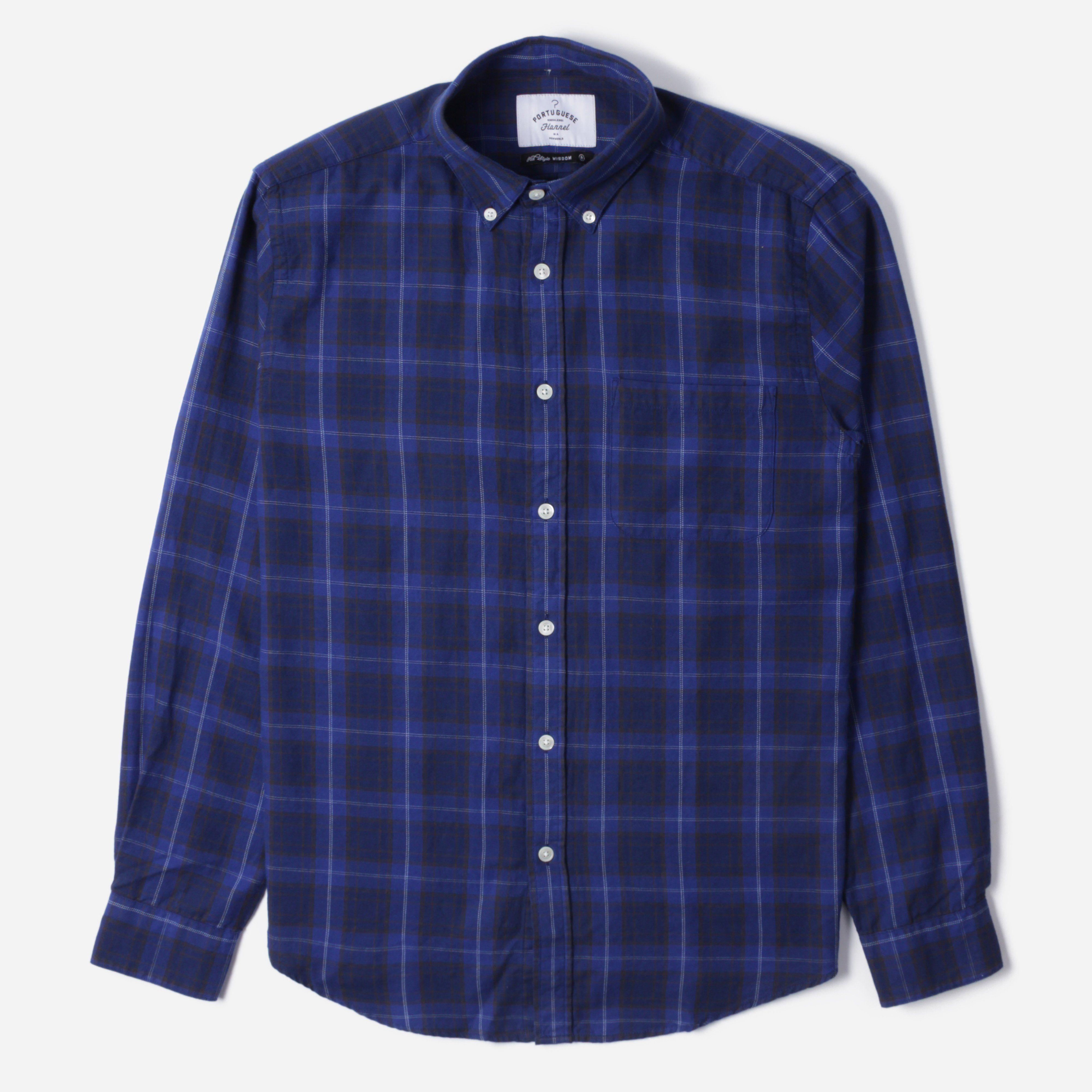 Portuguese Flannel OXNARD L/S BD SHIRT