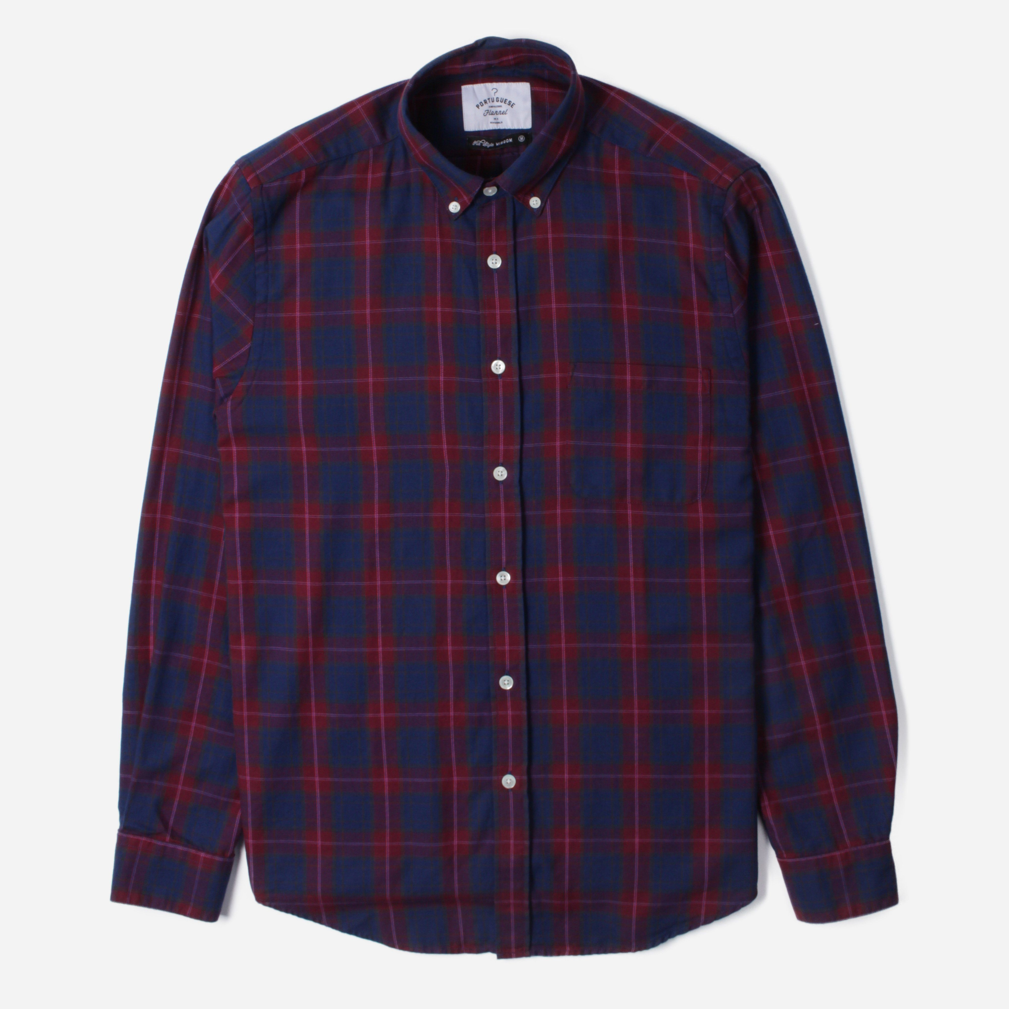 Portuguese Flannel VISEU L/S BD SHIRT