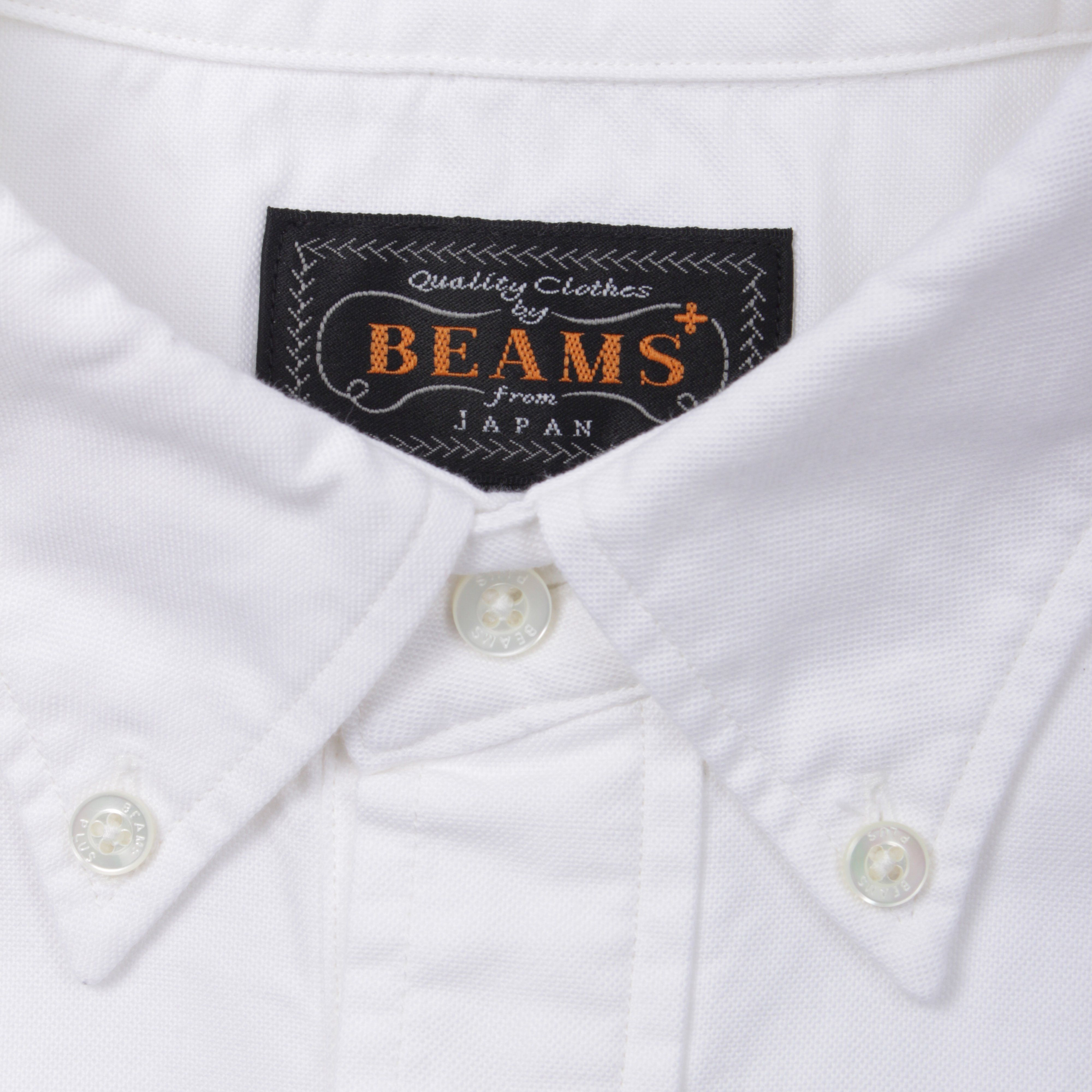 Beams Plus 1101 0329 139 SS PULLOVER BD OXFORD