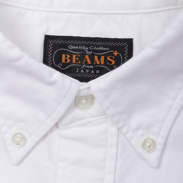 Beams Plus Pullover Short Sleeve Oxford Shirt