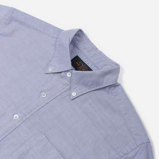 Beams Plus Pullover Short Sleeve Oxford Shirt | The Hip Store