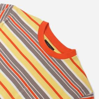 Beams Plus Multi Border Pocket Stripe T-Shirt