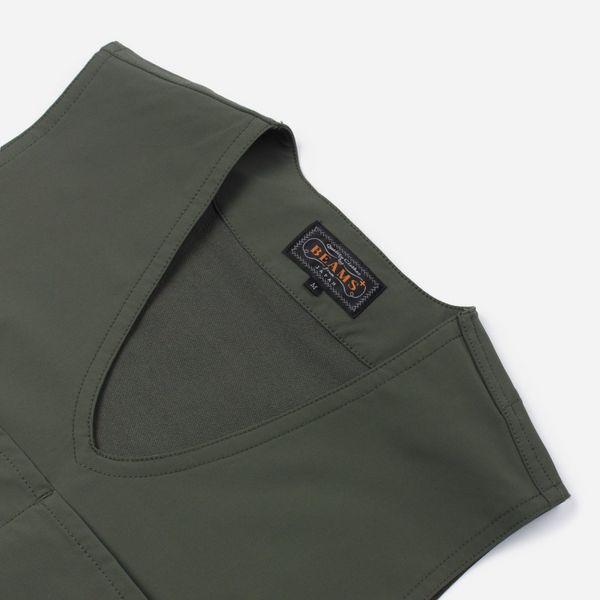 Beams Plus Pullover Utility Fleece Gilet