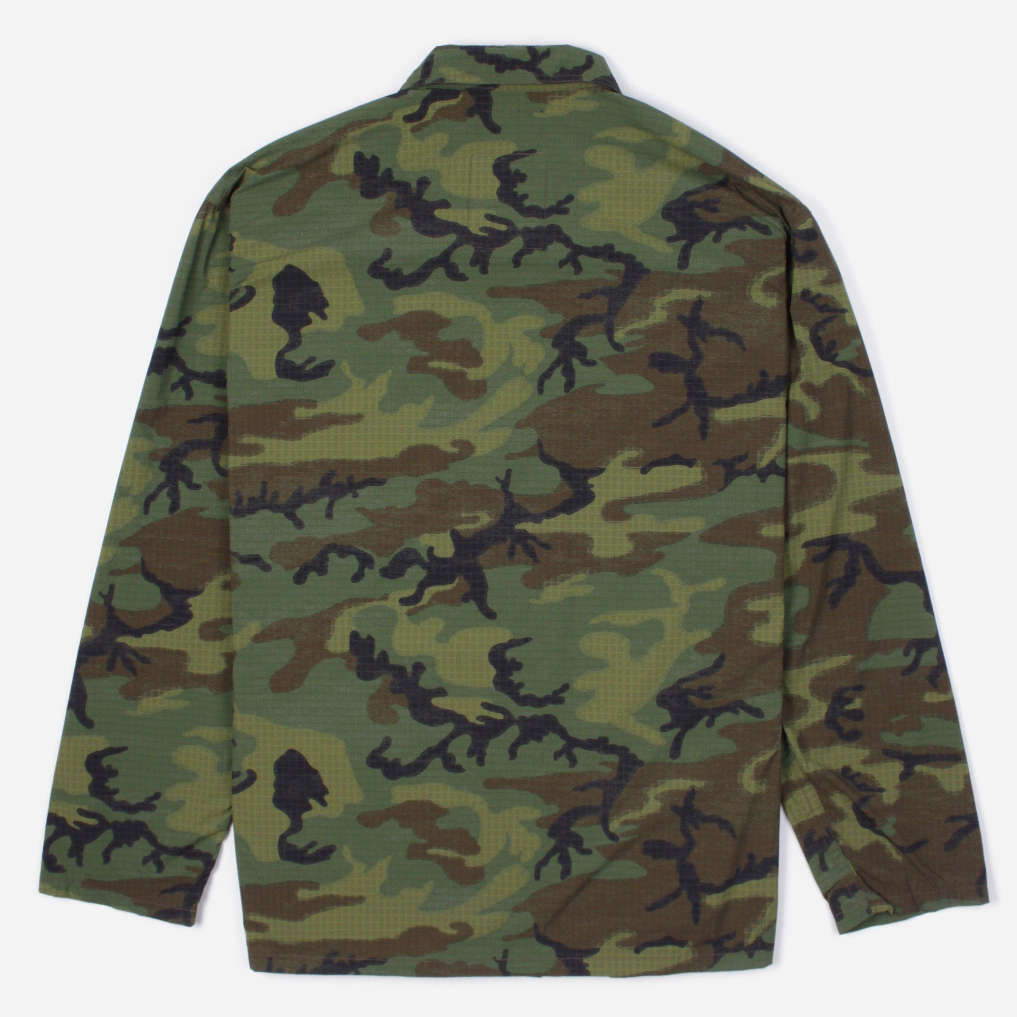 Beams Plus Military Utility Camo Jacket