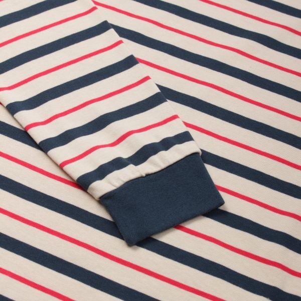 Pop Trading Company Kris Striped Long Sleeve T-Shirt